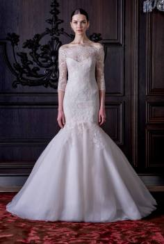 MONIQUE LHUILLIER SPRING 2016 BRIDALL COLLECTION 10