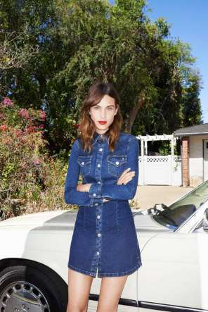 AG JEANS X ALEXA CHUNG COLLECTION 9