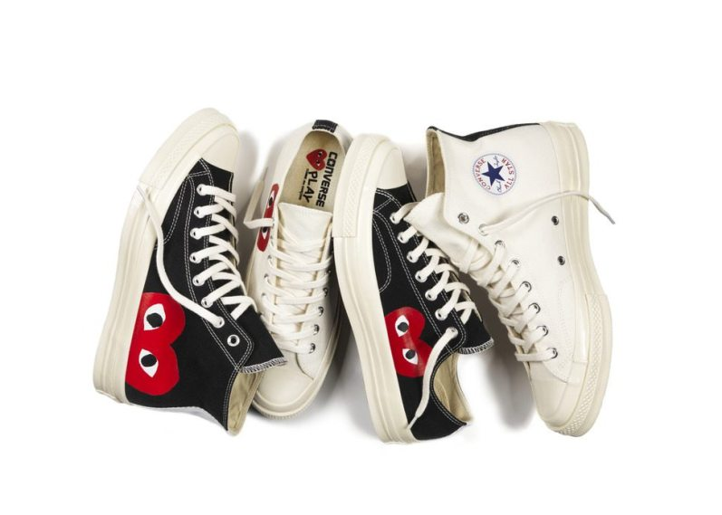 COMME DES GARCONS X CONVERSE CHUCK TAYLOR ALL STAR '70 COLLECTION 1