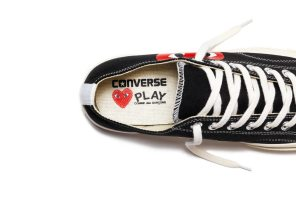 COMME DES GARCONS X CONVERSE CHUCK TAYLOR ALL STAR '70 COLLECTION 5