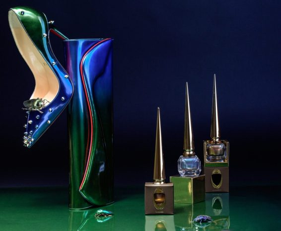 CHRISTIAN LOUBOUTIN BEAUTY SCARABEE LIMTIED-EDITION COLLECTION