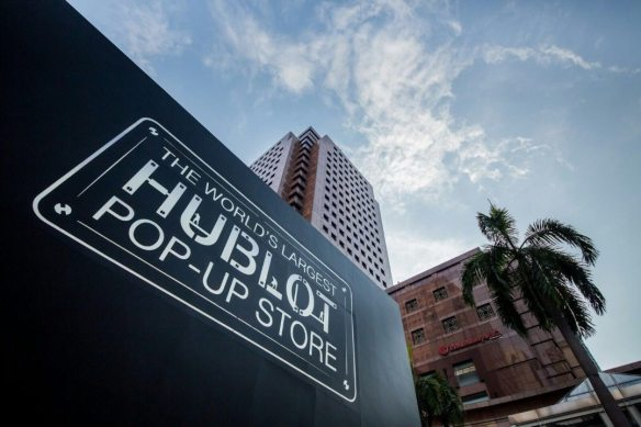 HUBLOT LARGEST POP-UP SHOP IN SINGAPORE