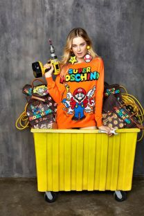 MOSCHINO 'SUPER MOSCHINO' COLLECTION WITH NINTENDO