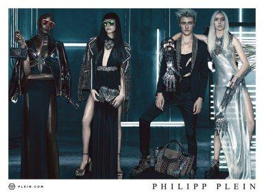 PHILIPP PLEIN SPRING 2016 AD CAMPAIGN