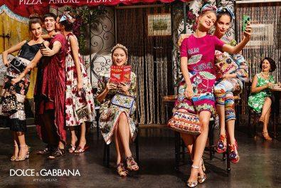 DOLCE & GABBANA SPRING 2016 AD CAMPAIGN 2