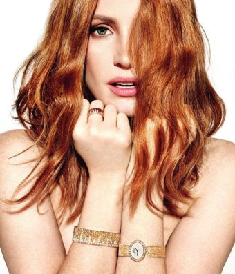 PIAGET 2016 AD CAMPAIGN FEATURING JESSICA CHASTAIN