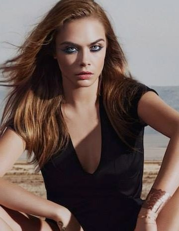 YVES SAINT LAURENT BEAUTY SUMMER 2016 AD CAMPAIGN FEATURING CARA DELEVINGNE