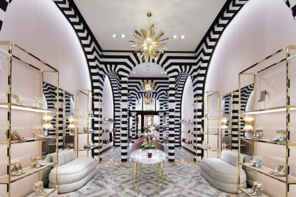 AQUAZZURA FIRST AMERICAN FLAGSHIP STORE IN NEW YORK