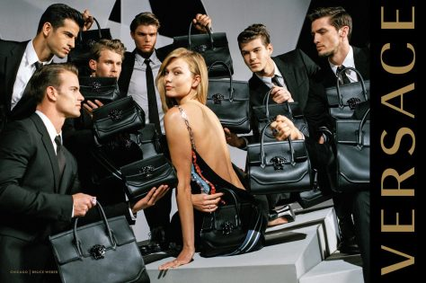 VERSACE FALL 2016 AD CAMPAIGN