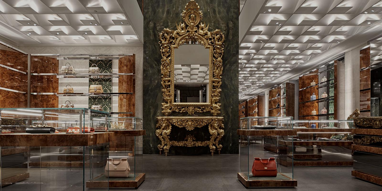 Dolce  Gabbana Flagship Store in Milan