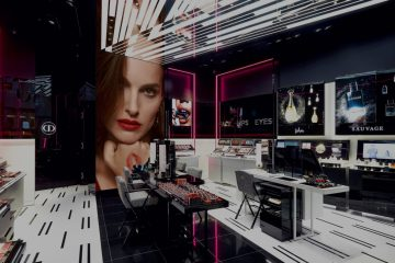 CHRISTIAN DIOR FIRST BEAUTY BOUTIQUE IN NEW YORK