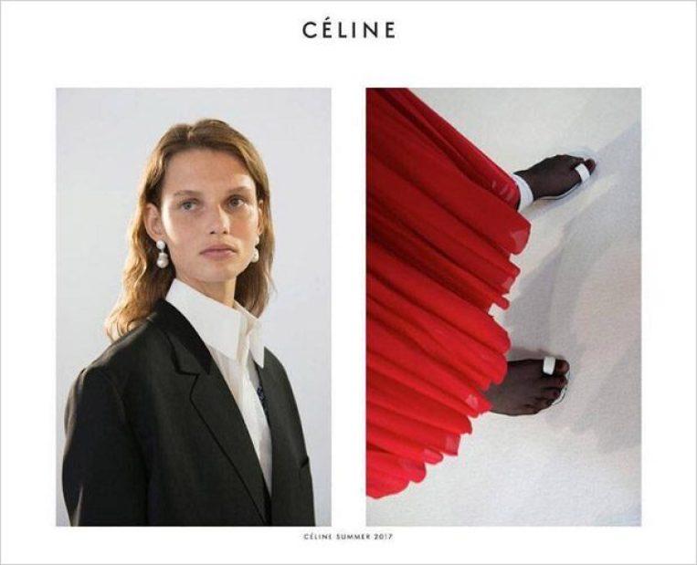 CELINE SPRING 2017 AD CAMPAIGN