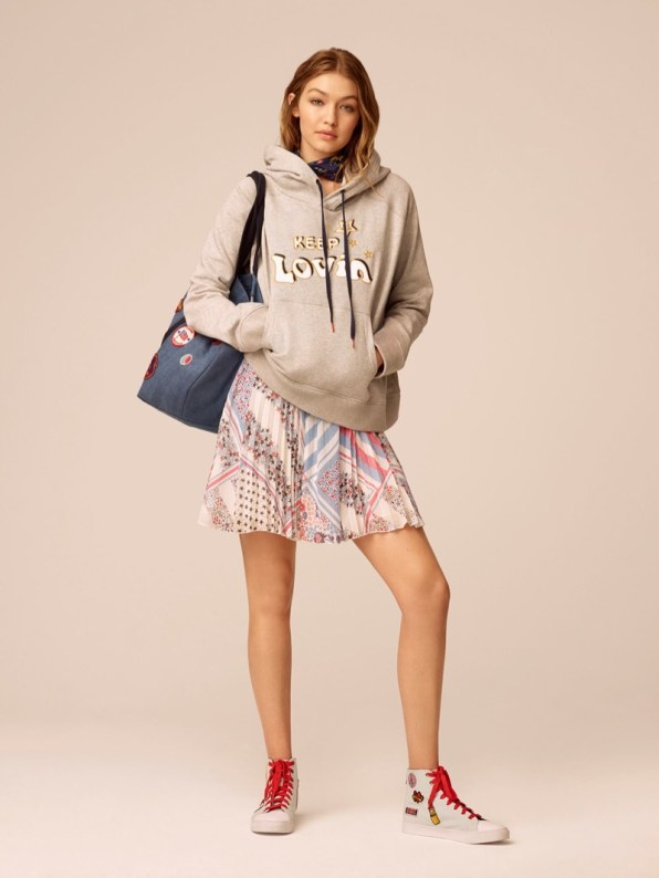TOMMY HILFIGER X GIGI HADID SPRING 2017 COLLECTION