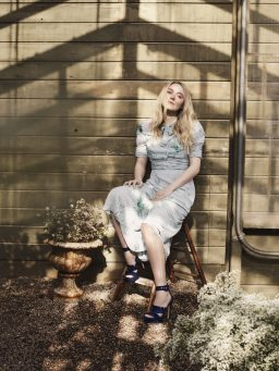 JIMMY CHOO SPRING 2017 COLLECTION FEATURING DAKOTA FANNING
