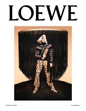 LOEWE FALL 2017 AD CAMPAIGN FEATURING GISELE BUNDCHEN