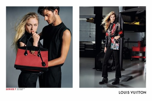 LOUIS VUITTON SERIES 7 FALL 2017 AD CAMPAIGN