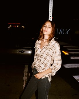 AG JEANS FALL 2017 AD CAMPAIGN FEATURING ALEXA CHUNG
