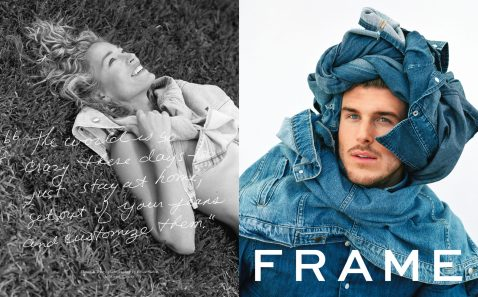 FRAME COLLABORATIVE CAMPAIGN WITH BRUCE WEBER