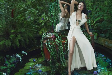 LA PERLA FALL 2017 AD CAMPAIGN FEATURING KENDALL JENNER
