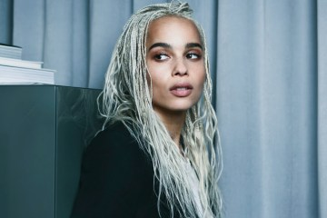 YVES SAINT LAURENT TATOUAGE COUTURE COLLECTION FILM STARRING ZOE KRAVITZ