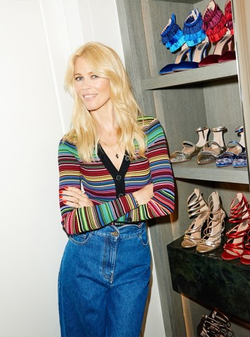 AQUAZZURA X CLAUDIA SCHIFFER CAPSULE COLLECTION 2