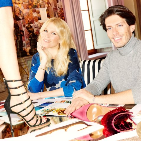 AQUAZZURA X CLAUDIA SCHIFFER CAPSULE COLLECTION 3