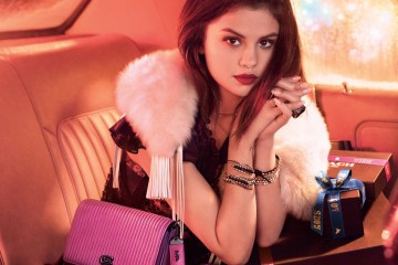 COACH HOLIDAY 2017 AD CAMPAIGN FEATURING SELENA GOMEZ