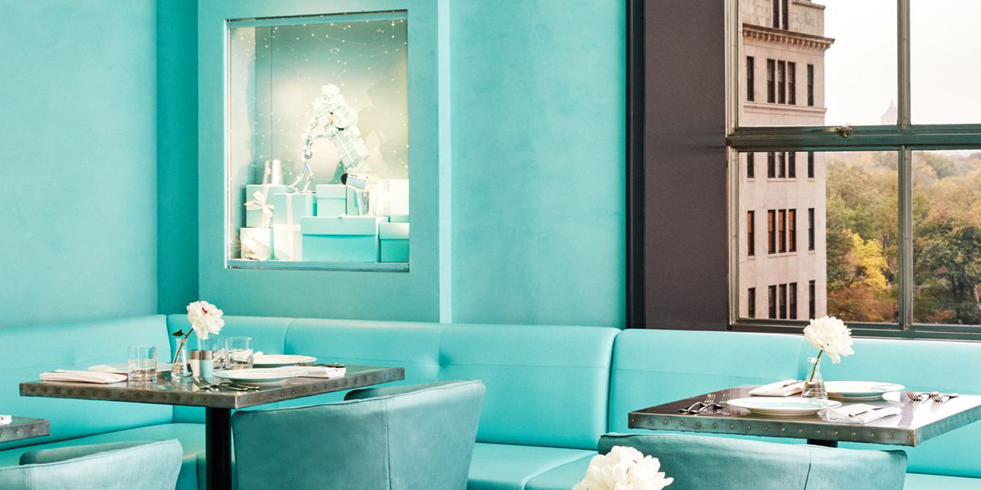 Tiffany Amp Co Blue Box Caf In New York LES FAONS
