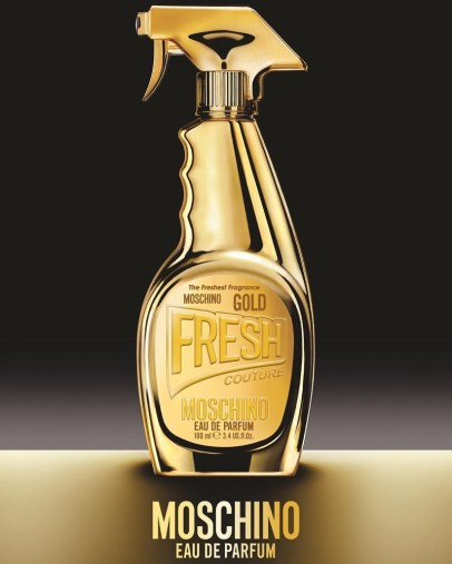 MOSCHINO GOLD FRESH COUTURE FRAGRANCE CAMPAIGN