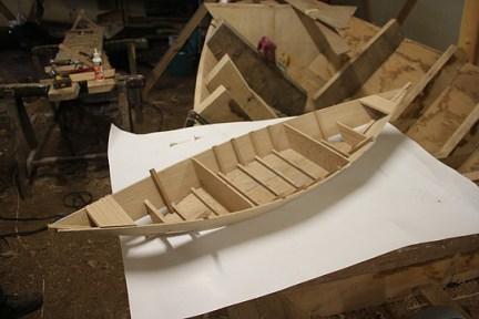 Conception et construction de bateaux miniatures