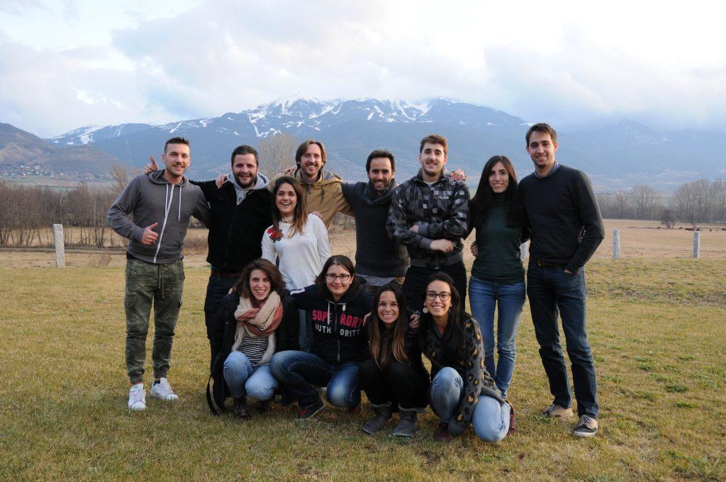 Grupo de trabajo Airbnb. Desembre'17