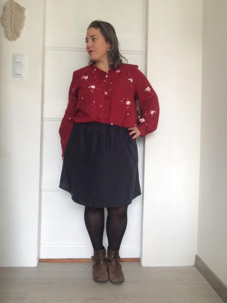 ma tenue complète : Wendy et la jupe