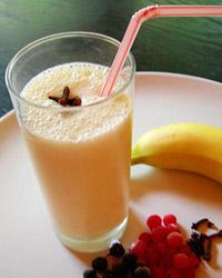 Milkshake à la banane