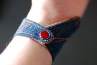 Bracelet en jean