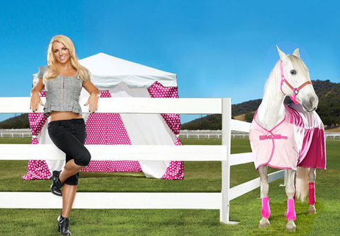 Britney Spears pour Candie's