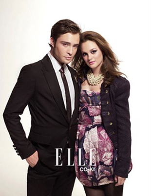 Ed Westwick et Leighton Meester