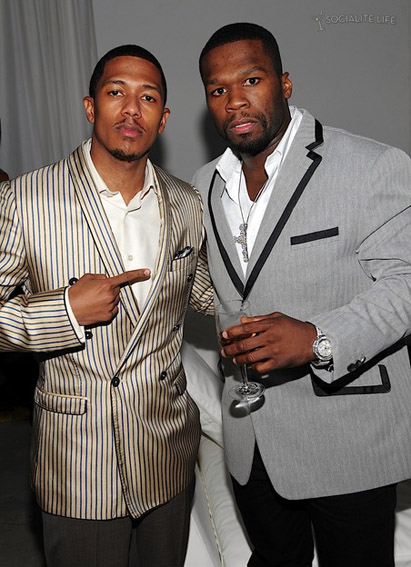 Nick Cannon et 50 Cent