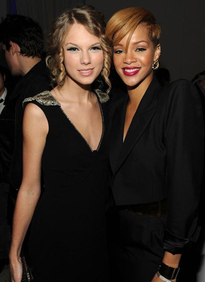 Taylor Swift et Rihanna