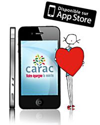 application dédiée pour Iphone