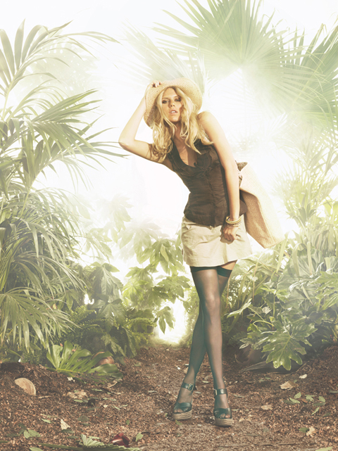 Alexandra Richards pour Tally Weijl
