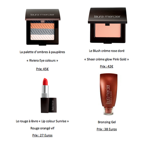 Collection Portofino par Laura Mercier