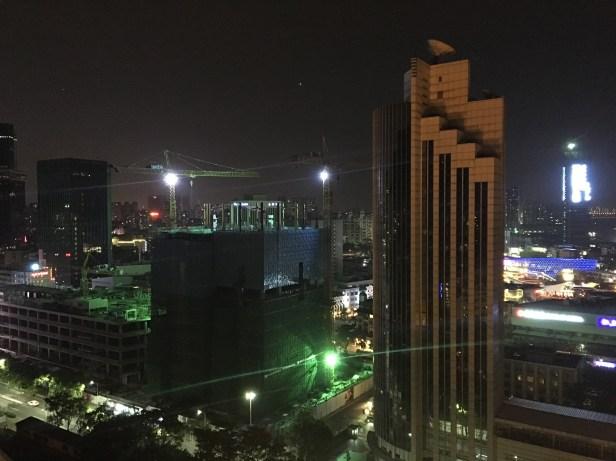 Notre dernière nuit à Shenzhen ...✨