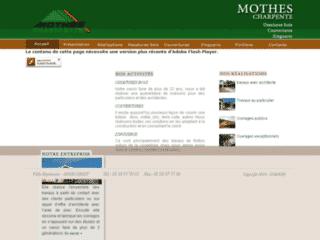 Travaux de charpente, de couverture, de zinguerie à Orist (Landes) : Charpentes Mothes