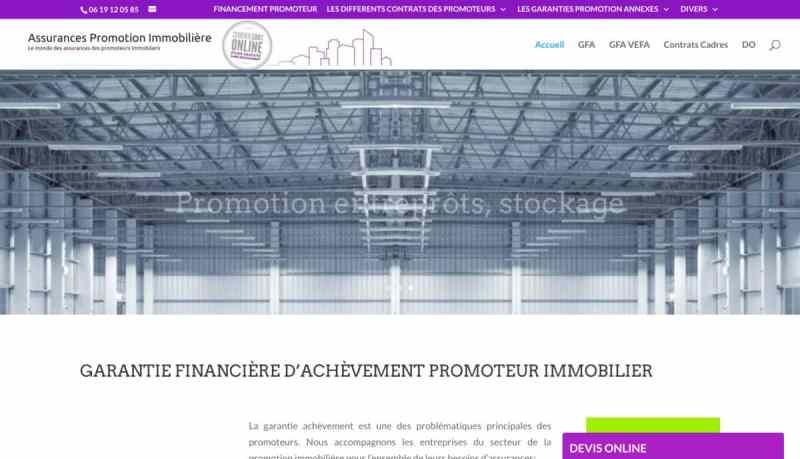 Votre offre de garantie financière d'achèvement