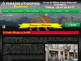 Restaurant Africain O Paradis éthiopien à Metz (57)