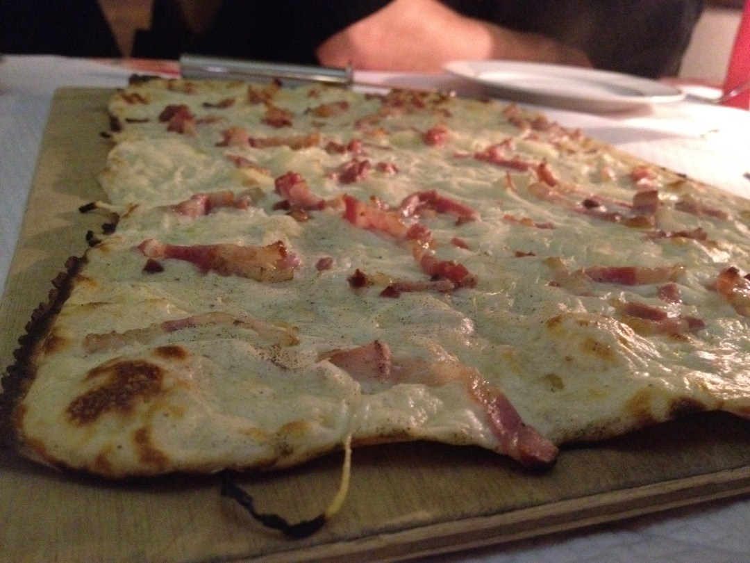 Tarte flambée Traditionnelle