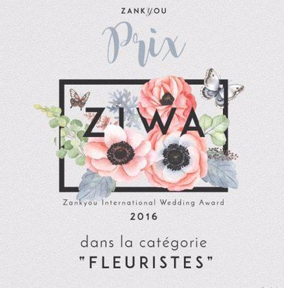 Zankyou International Wedding Award 2016