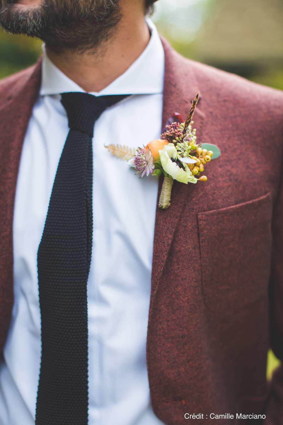 boutonniere-automne-mariage