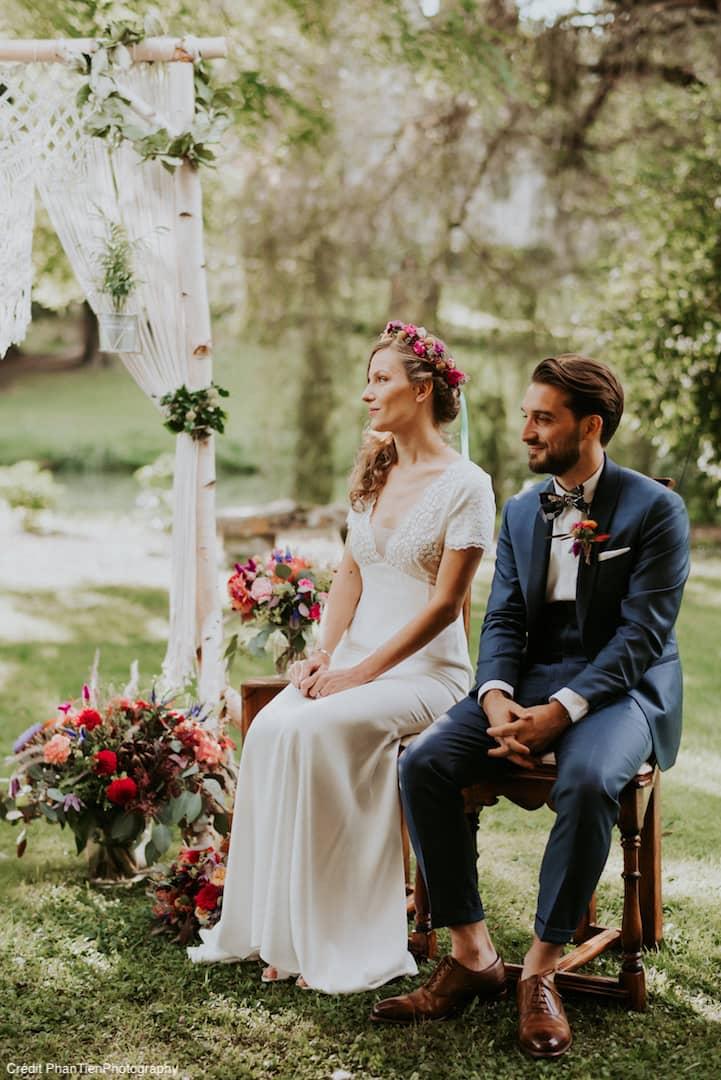ceremonie-mariage-champetre-fleurs