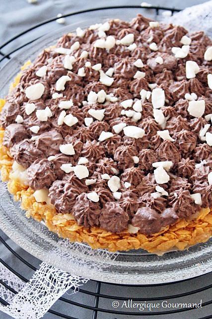 Tarte Au Chocolat Sans Oeuf : tarte, chocolat, Recette, Tarte, Céréales-poires-chocolat, {sans, Gluten,, Lait,, Oeufs}